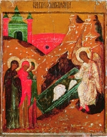 Angel appears to the Myrrh-Bearing Women