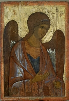 "Archangel Michael. From the Deesis (""Vysotsky"") row"