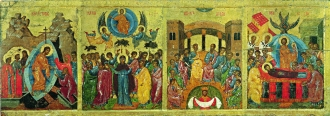 Resurrection - Descent into Hell, Ascension, Descent of the Holy Spirit, Dormition of the Holy Virgin